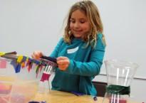 girl engineering toy school break camp