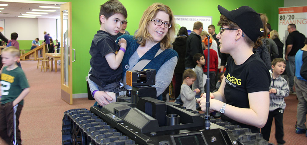 Family Robotics Day Event in MN
